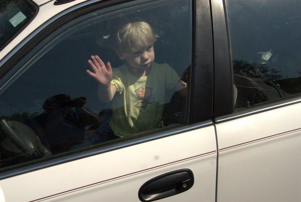 Наказание за оставление ребёнка в машине без присмотра