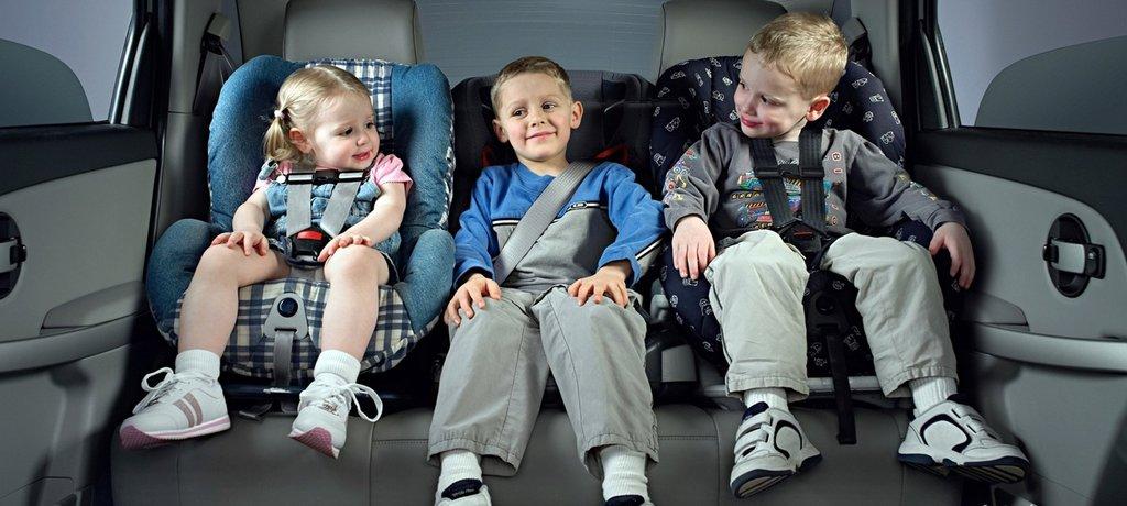 Особенности перевозки детей от 7 до 12 лет