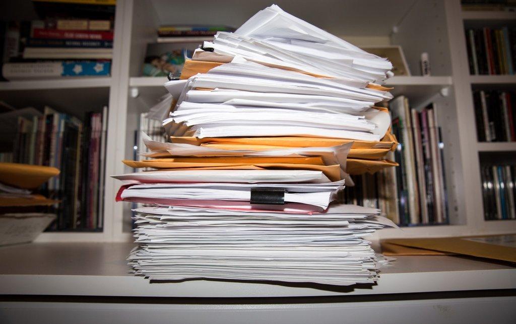 Папки с документами