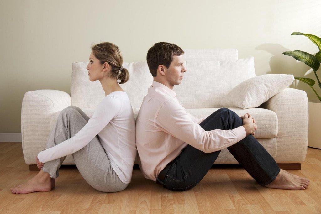 Супруги в ссоре