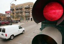 Штраф за проезд на красный сигнал светофора