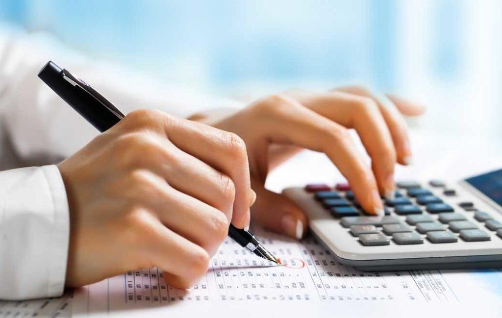 Подсчеты налогов на калькуляторе